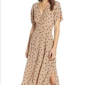astr the label // button down midi dress